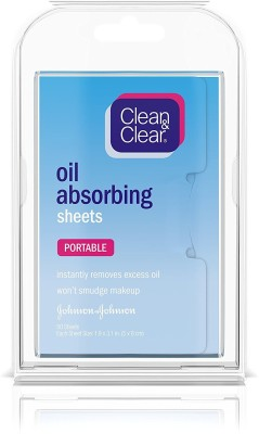 Clean & Clear Oil-Absorbing Sheets Face Wash(22.7 g)