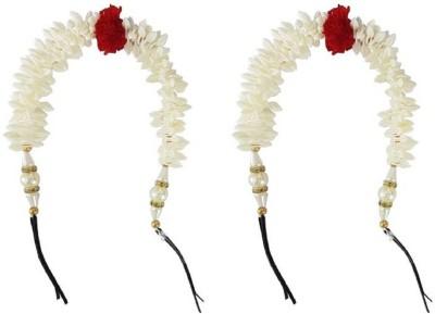 Majik Fancy Gajra (Veni) Accessories for Women Hair Band Hair Accessory Set(Multicolor)