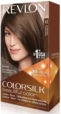 Revlon Medium Brown No-41 Hair Color(Colorsilk Beautiful Hair Color) Flipkart