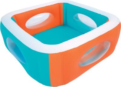 Hytech Window Shape Inflatable Pool 5.5ft Long- 5.5ft X 5.5ft X 1.8ft Inflatable Pool(multi)
