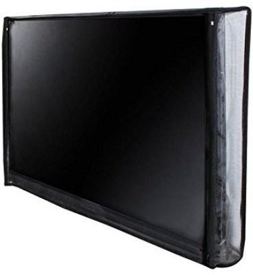 KANUSHI INDUSTRIES Transparent LED/LCD Cover for 32 inch LCD/LED TV  - TRANSPARENT-PVC-32(Transparent)  available at flipkart for Rs.339
