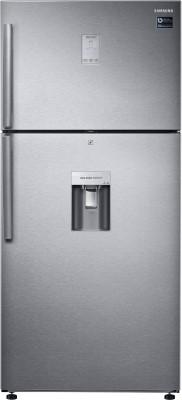 Samsung 523 L Frost Free Double Door 3 Star (2019) Refrigerator(Easy Clean Steel, RT54K6558SL/TL)