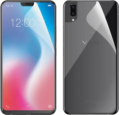 Case Creation Front and Back Screen Guard for Vivo (Y17)(Pack of 2)