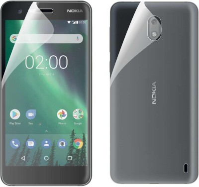 Case Creation Front and Back Screen Guard for Nokia 3(Pack of 2)