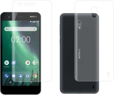 Case Creation Front and Back Screen Guard for Nokia2 Android phone 2017(Pack of 2)
