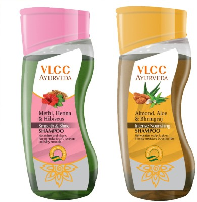 VLCC Ayurveda Smooth Shine & Nourishing Shampoo