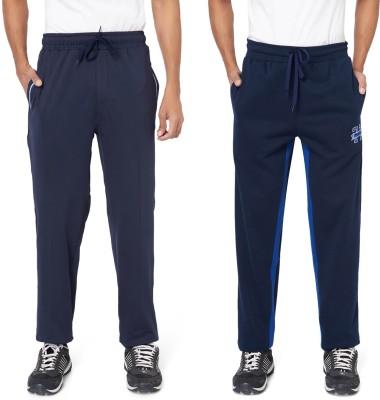 Athlete Solid Men Dark Blue, Dark Blue Track Pants Flipkart