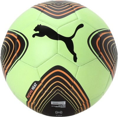 Puma FUTURE HEAT BALL Football - Size: 5(Pack of 1, Green)