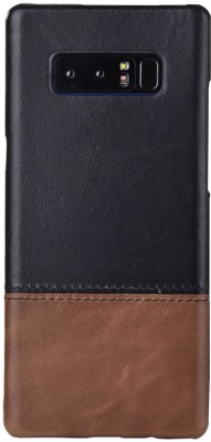 Kapa Back Cover for Samsung Galaxy Note 8(Black, Brown, Leather)