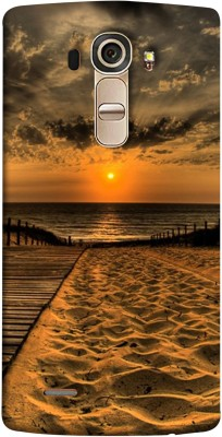 Stylephone Back Cover for LG G4(Sunset Beach, Getting Ideas Mobile Case, Plastic)