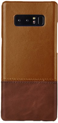 Kapa Back Cover for Samsung Galaxy Note 8(Brown, Leather)