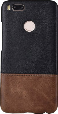 Kapa Back Cover for Mi A1(Black Brown)
