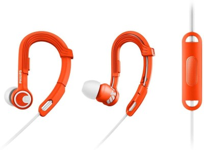 Philips SHQ1300OR Wired Headphone(Orange, White, In the Ear)