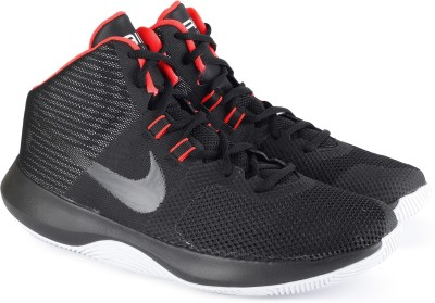 Nike NIKE AIR PRECISION Basketball Shoes For Men(Black) 1