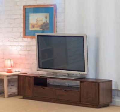The Jaipur Living Zephyr Mango Solid Wood TV Entertainment Unit(Finish Color - Honey Brown)