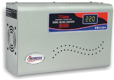 Microtek EM4130+ Voltage Stabilizer Metallic Grey Microtek Voltage Stabilizers