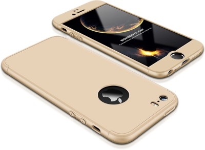 Tommcase Back Cover for Apple Iphone 5 / 5s / Se(Gold)