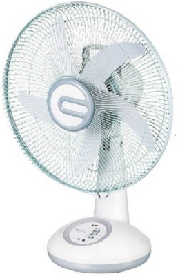 Starvin ASHOKA || GOLD STAR || Laurels Mini Table Fan || Small Size || Hi-Speed || Best Performance || For Kitchen, Office etc || Stylish Design || IS :996 Approved Motor || F-025 3 Blade Table Fan(white)