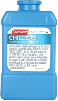 Coleman Ice Substitute (Hard) - Small Ice Substitute Hard Small Ice Chiller(Blue, 1 L)