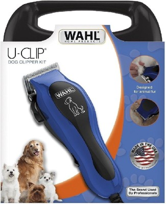 Wahl Professional U-Clip Pet Clipper Kit With Two Years Guarantee From Manufacturer Black Pet Hair Trimmer  available at flipkart for Rs.3999