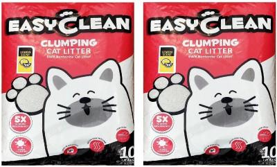 Goofy Tails Easy Clean Lemon Scent Cat Litter (8kg, Pack of 2) Pet Litter Tray Refill