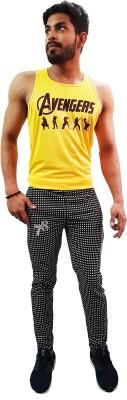 78 kings vide Checkered Men's Multicolor Track Pants