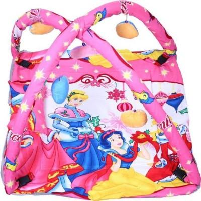 babique Cotton Kids BED CUM WITH MOSQUITO NET Mosquito Net (Pink) KIDS CRIB(COTTON, Pink)