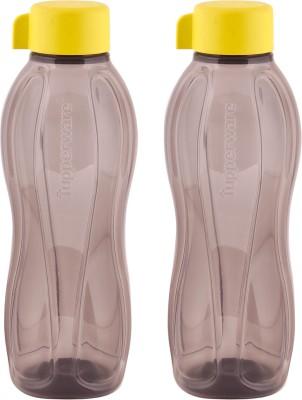Tupperware Tupperware OPAQUE FlipTop 1 litter Water Bottles 4 pcs 1000 ml Bottle(Pack of 4, Red, Orange, Blue, Yellow)