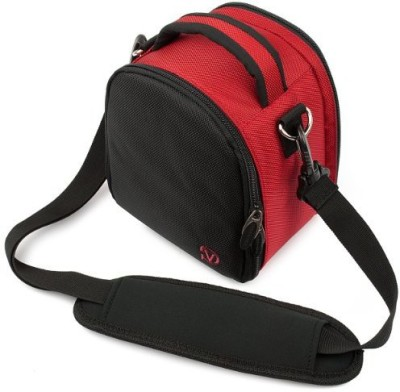 Vangoddy Laurel Camera Bag - Sony Cyber - Shot Dslr Digital Cameras - IN_camlea032_k3  Camera Bag(Red)  available at flipkart for Rs.4337