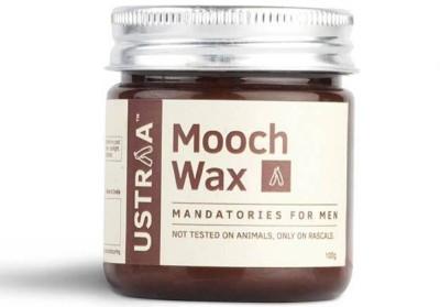 Ustraa By Happily Unmarried Mooch Wax - Hair styling Gel for Men Hair Wax(100 g)