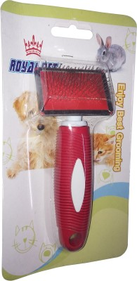 ROYAL PET Dog Massage Soft Pin Brush (K-9503 No) Wire Short Fur Hair Grooming Hand Loop Wire-pin Wire-pin Brushes for  Dog & Cat