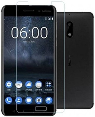Mobihulk Tempered Glass Guard for Nokia 8(Pack of 1)