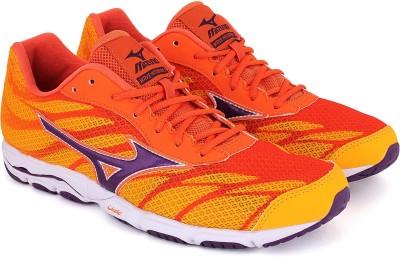 MIZUNO WAVE HITOGAMI 3 Running Shoes For Men Yellow MIZUNO Sports Shoes