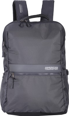 American Tourister Laptop Backpack (Grey) 20 L Laptop Backpack(Grey)