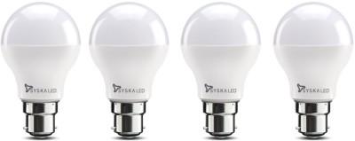 Syska Led Lights 7 W Standard LED Bulb White, Pack of 4 Syska Led Lights Bulbs