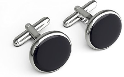 Verceys Brass Cufflink Set(Black)