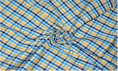 cca37e690ec 28% OFF on Raymond Pure Cotton Checkered Shirt Fabric(Un-stitched) on  Flipkart