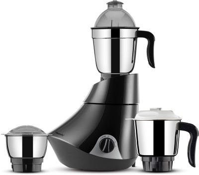 Butterfly Smart 3 Jar 750 watts 750 Mixer Grinder(Grey, 3 Jars)  available at flipkart for Rs.3045