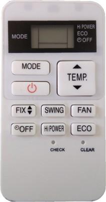 LipiWorld 178 AC Remote Compatible for Toshiba AC Remote Controller(White)