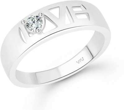 55defc9b9f1 Vighnaharta Valentine Love Band Finger Ring for Women and Girls ...