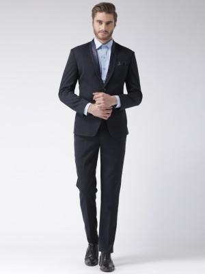 Hangup designer Solid Men Suit