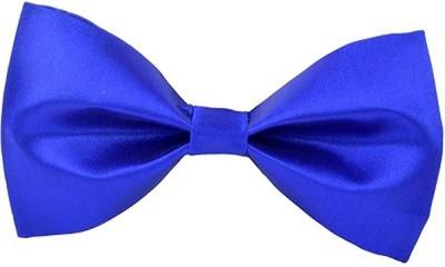 Hind Home Royal Blue Bow Tie Mens Solid Men Tie