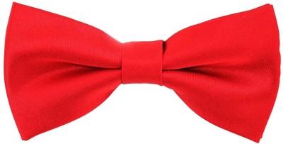 Hind Home Red Bow Tie Mens Solid Boys Tie