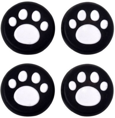 Everycom Cat's Paws Silicone Thumb Sticks Caps Handle Joystick Grip Cover Compatible With Sony PS4/Xbox 360 Controllers - Pink  Gaming Accessory Kit(White, For PS4)  available at flipkart for Rs.199