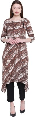 Jaipur Attire Women Printed Flared Kurta(Multicolor)