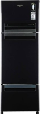 Whirlpool 330 L Frost Free Triple Door Refrigerator(Caviar Black, FP 343D PROTTON ROY)