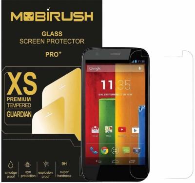 Mobirush Tempered Glass Guard for Motorola Moto G(Pack of 1)