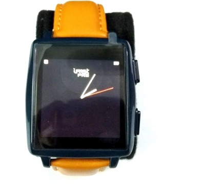 Intex irist pro blue Smartwatch(Blue Strap Regular)