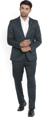 Arrow New York Suit Solid Men's Suit