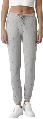 Harvard Solid Women Grey Track Pants at flipkart